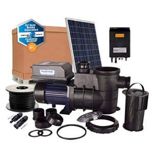 PlusEnergy Kit Depuradora de Piscina Solar 370W - 1/2cv con ...