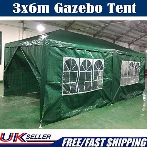 SiKy Carpa de 3 x 6 m Impermeable para Fiestas al Aire Libre...