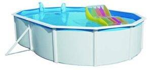 Steinbach Acero Pared Pool Set Nuovo de Luxe Ovalado, Color ...