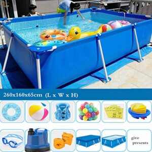 TYP Mall Deluxe Splash Frame Pool Desmontable Tubular Piscin...