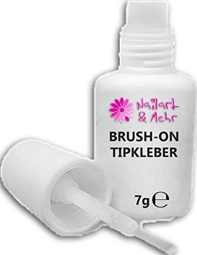 Tip de pegamento extra/Brush de on de MPK/cyn para uñas (con...