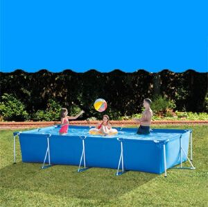 ZDW Rsein 450 * 220 * 84cm marco rectangular Tubo piscina in...