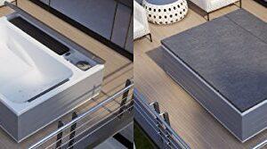 grandform Minipiscina Spa Loft 200x 160cm