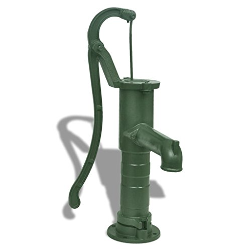 vidaXL Bomba de Agua Manual para Jardín Patio Terraza de Hie...