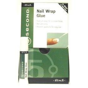 IBD-5 Second Nail Wrap pegamento (paquete de 12)
